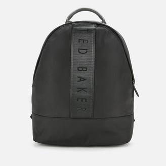 Ted Baker Men's Regon Branded Satin Nylon Backpack
