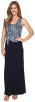 Karen Kane Tie-Top Maxi Dress