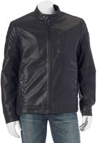 Apt. 9 Big & Tall Modern-Fit Faux-Leather Jacket
