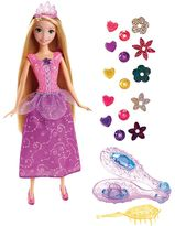 Disney Princess Rapunzel Gem Styler Doll