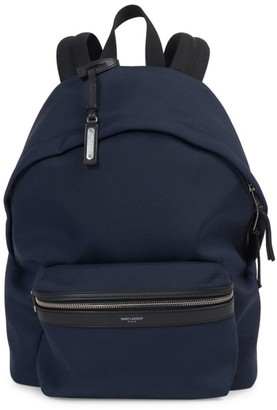 Saint Laurent Patch Stream Backpack