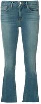 Frame Raw Edge Gusset Jeans