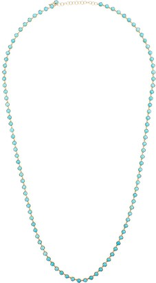 Irene Neuwirth 18kt Yellow Gold Cabochon Turquoise Necklace