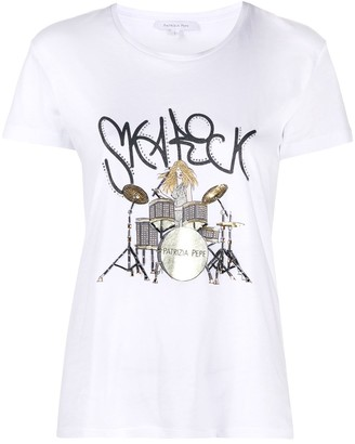 Patrizia Pepe Ska Rock T-shirt