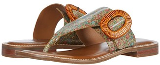 Patricia Nash Fulvia (Coral Bouquet) Women's Sandals