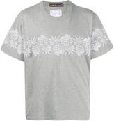 Sacai pineapple print T-shirt
