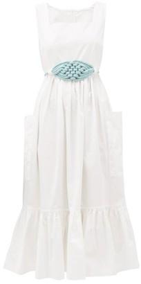 Love Binetti - Simple Minds Tiered Cotton Dress - White