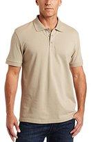Classroom Uniforms Classroom Unisex Short-Sleeve Pique Knit Polo Shirt