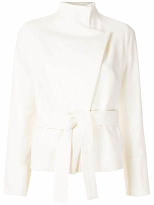 Egrey Ines tied jacket