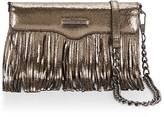 Rebecca Minkoff Fringe Leather Tech Crossbody Bag