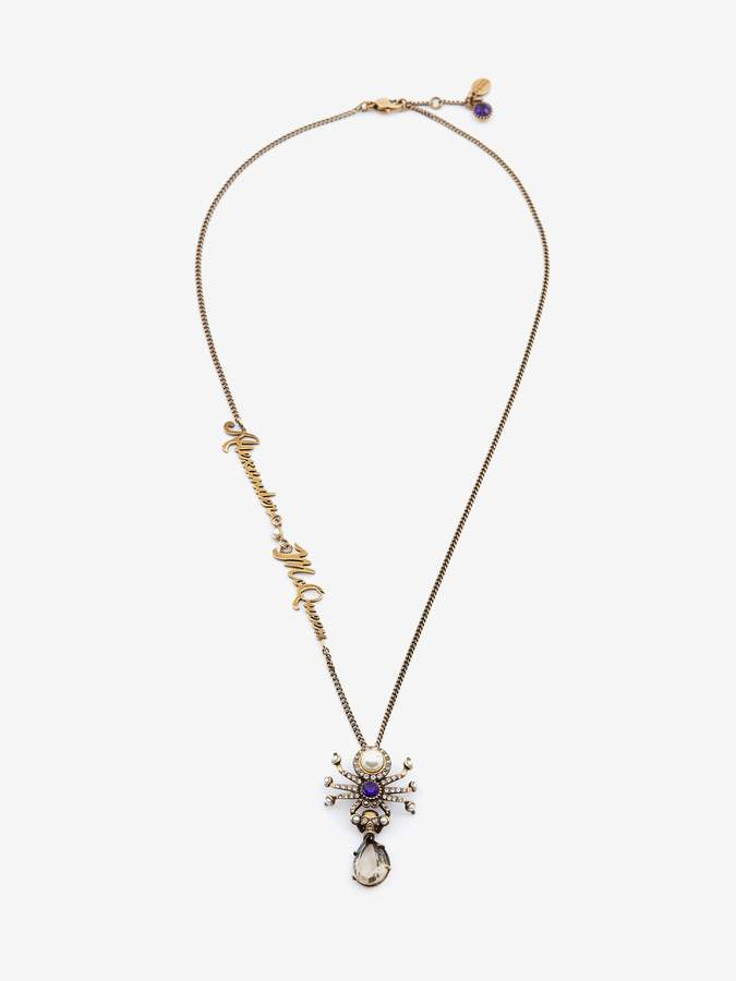 Alexander McQueen Signature Spider Necklace
