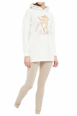 Disney Bambi Woman Long Pajamas Beige