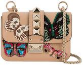 Valentino Garavani Valentino Embellished shoulder bag - women - Leather/metal - One Size
