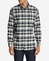 Eddie Bauer Men's Eddie's Favorite Flannel Slim Fit Shirt