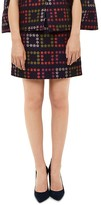 Ted Baker Rooroo Horticultural Checked Skirt