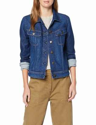 Lee Women's Slim Rider Denim Jacket Blau (Dark Garner Uv) X-Small