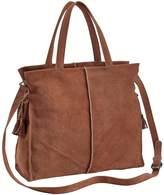 Heine Large Suede Bag