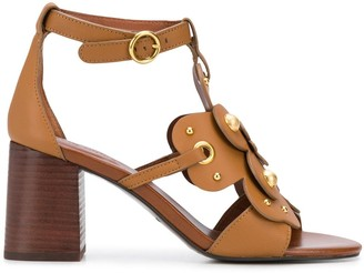 See by Chloe Cut-Out Flower Sandals