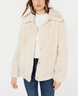 Joujou Jou Jou Juniors' Faux-Fur Coat
