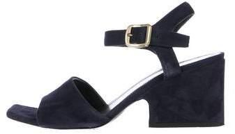 Celine Suede Wedge Sandals