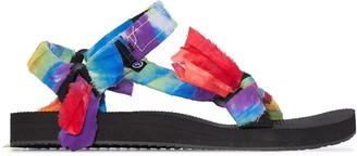 Arizona Love Bandana Knotted Flat Sandals