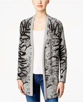 Calvin Klein Jeans Patterned Open-Front Cardigan