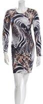 Torn By Ronny Kobo Long Sleeve Mini Dress