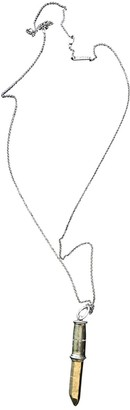 Bjorg Metallic Silver Necklaces