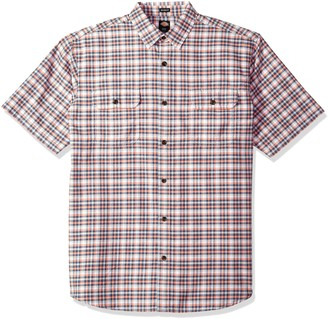 Dickies Men's Plaid Short Sleeve Shirt