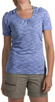 Woolrich Constellation Jersey T-Shirt - Scoop Neck, Short Sleeve (For Women)
