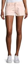 Hudson Kenzie Cutoff Jean Shorts, Pink