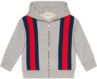 Gucci Kids Baby sweatshirt with Web