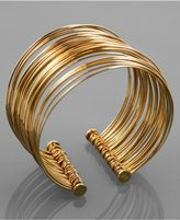 Bracelet, Gold Plated Cuff
