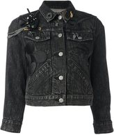 Marc Jacobs Mickey Mouse patch denim jacket