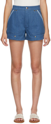 Chloé Blue Denim Shorts