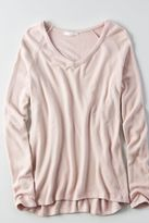 American Eagle Outfitters Don't Ask Why Plush V-Neck Sweater
