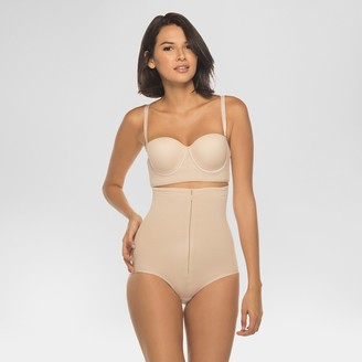 Annette Women's Faja Extra Firm Control High Waisted Shaper with Invisible Zipper -