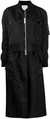 Sacai Layered Bomber Coat
