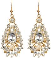 Cara Accessories Teardrop Large Drop Earrings