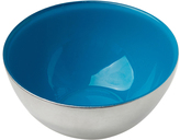 Sheridan Silver & Aqua Condi Bowl