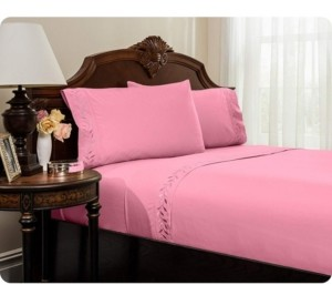 Reversifi Embroidered Bed Sheets Set - Queen Bedding