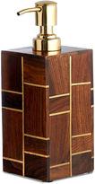 Melrose Lotion Dispenser, Brown/Gold