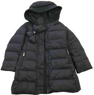 MonnaLisa Blue Synthetic Jackets & Coats