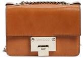 Jimmy Choo 'Rebel Mini' Leather Crossbody Bag - Brown