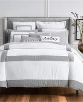 Charter Club Damask Designs Colorblock 3-Pc. King Duvet Cover Set, Created for Macy's Bedding