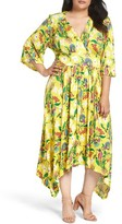 Melissa McCarthy Plus Size Women's Print Jersey Maxi Dress