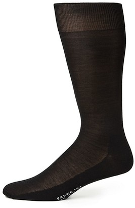Falke Solid Silk Dress Socks
