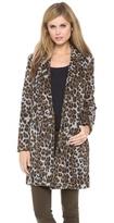 Hazel Leopard Coat