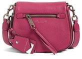 Marc Jacobs Small Recruit Nomad Pebbled Leather Crossbody Bag - Pink