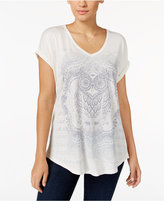 Style&Co. Style & Co. Owl Graphic T-Shirt, Only at Macy's